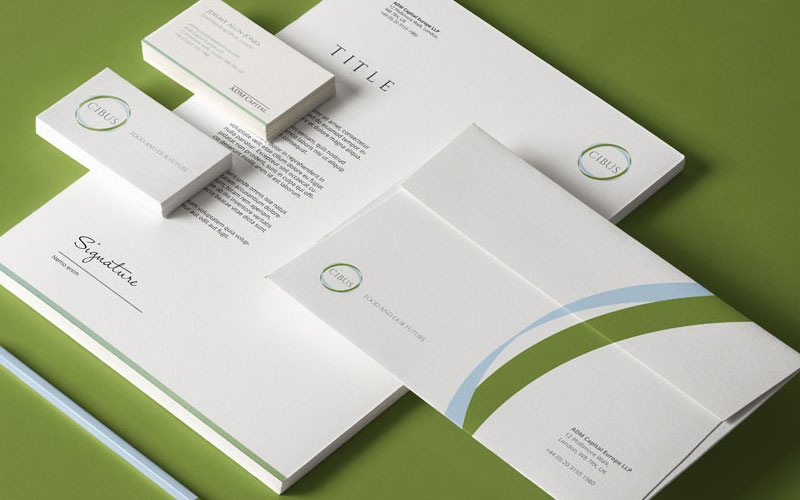 CHEDDAR MEDIA COLLATERAL DESIGN